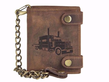 Bild von Vintage Kettenbörse TRUCK