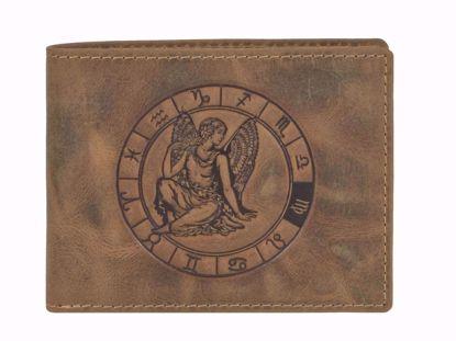 Bild von Vintage Geldbörse Jungfrau